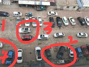 小区楼下的乱停车,12345,小区物业,都管不了