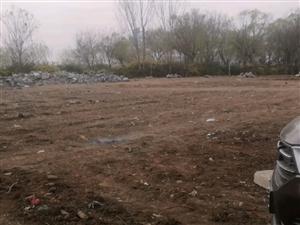 山水文园西门空地改造工程土地裸露
