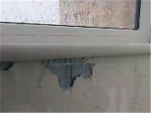 济北郡三期窗户漏雨