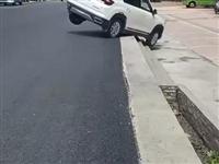 开车的朋友小心啊