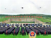 """永远做党和人民的""""守护蓝""""——写在山东公安喜迎第一个中国人民警察节之际"""