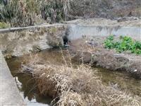 寻乌桂丰村河提修好,土不清理,望有关部门处理!