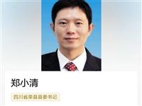 富顺人郑小清当选荣县县委书记