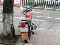 这三菱摩托车放了二年,寻找它主人…