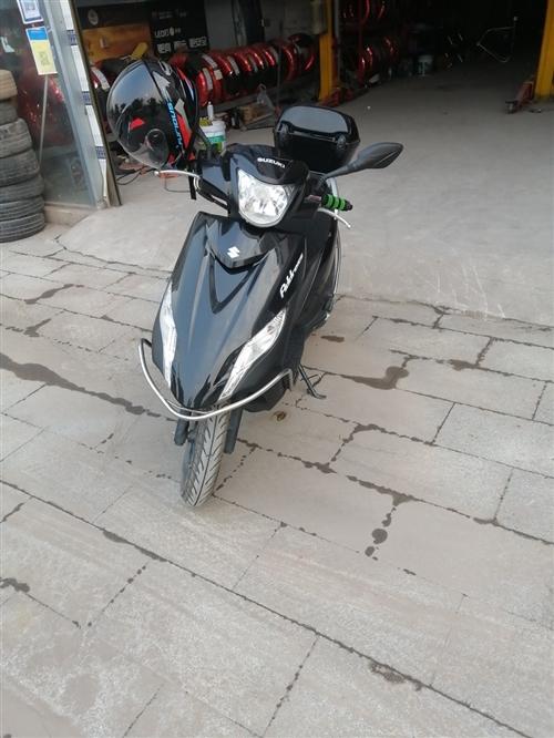 19款铃木uu,合资踏板摩托车