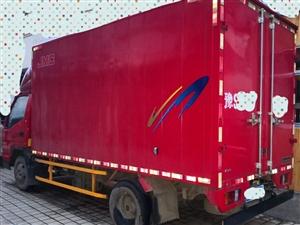 出售国五江铃顺达宽体厢式货车