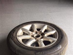 转让闲置大众帕萨特领域轮毂轮胎