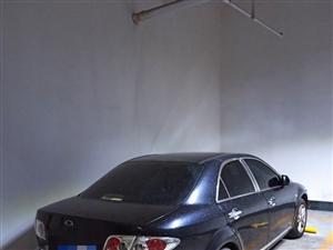马自达6黑色豪华自动挡