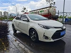 丰田雷凌2018款1.2L