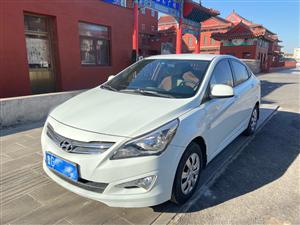 青州個人一手車14年新款現代瑞納,閑置出售