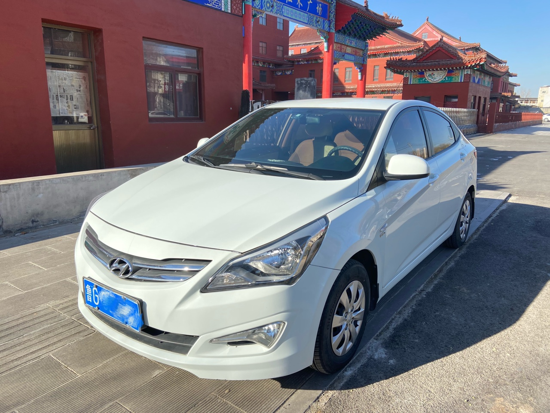 青州个人一手车14年新款现代瑞纳,闲置出售