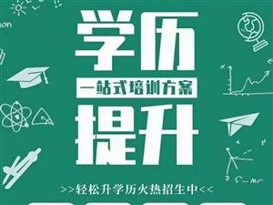 安徽省学历提升报考中心:高升专、专升本、高起本