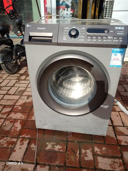海尔滚筒洗衣机,耐用性好!洗衣干净!有需要的联系哦!免费送货哦!