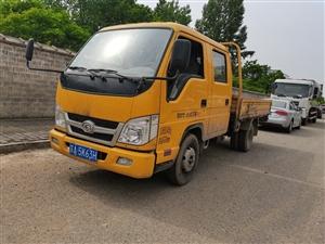 福田时代汽油双排 国六排放 3米货箱