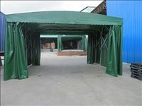8*8米户外推拉帐篷,七八成新,用了一年多,加厚钢管支撑,便宜处理。