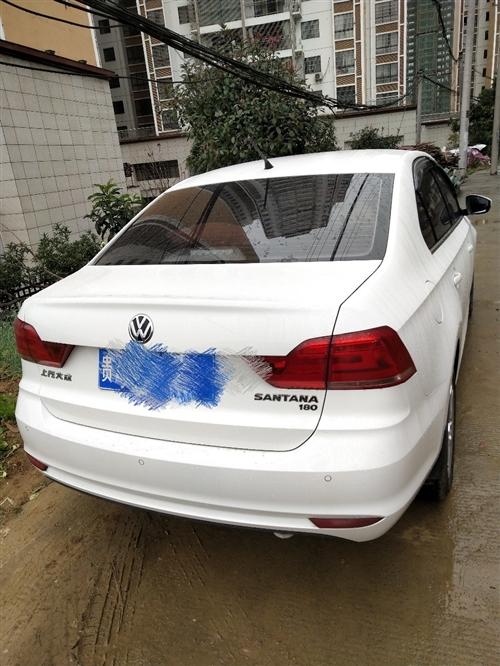 私家車桑塔納18年2月上牌  2.2萬公里   手動舒適版1.6L 車況好