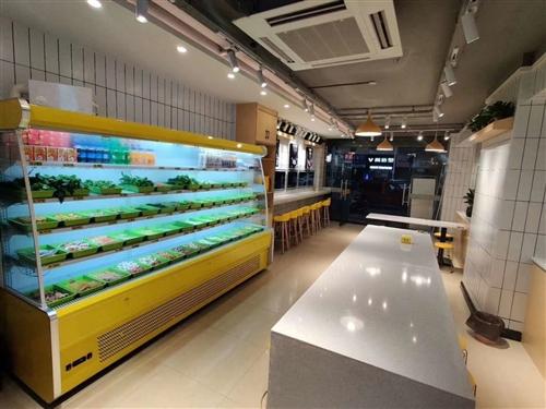 3米水果风幕柜带喷雾,便宜出售,2020年10月份购买!