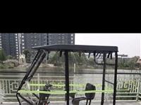 电动三轮代步车车棚 如图 95成新 用过半个月 因搬家不方便携带
