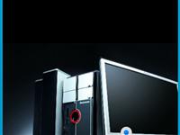 鶴壁轉讓四核游戲電腦及打印機顯示器