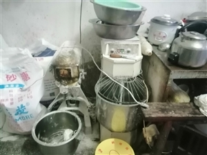 和面机打蛋机煤汽烤箱