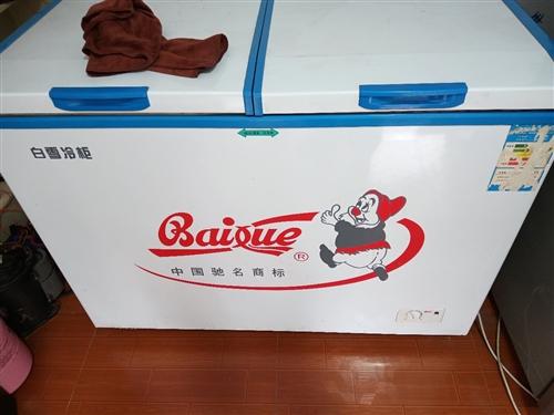 转让白雪冰柜一台,275升,双温的,9成新,550块钱需要的电话联系13028302333