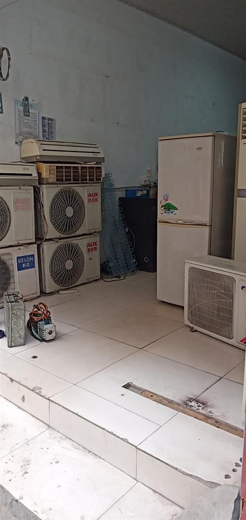 收售二手空调,维修冰箱空调热水器,电焊氩弧焊机