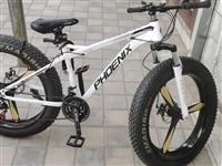 山地自行车,粗胎,买了一个月,骑了不到十次,白色,三刀轮,微信手机同号18894009168