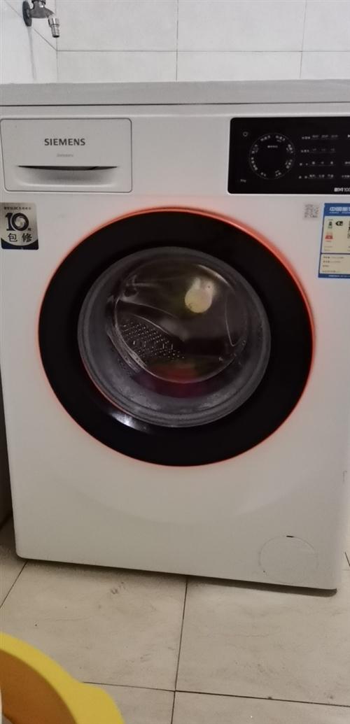 西门子洗衣机,无刷电机保修10年,耗电量0.75,用水量(升/工作周期)59  洗净比1.03  洗...