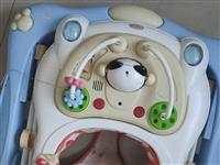 学步车,婴儿床(宽60,长125)婴儿车洗洗就能用,打包100,文化西路38-1司法小区,自取。