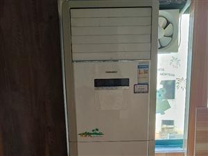 格力空调柜机,380v,三相电源,八成新
