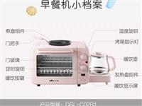 小熊多功能烤箱,早餐機。**,原包裝還在。原價300多買的。因家里有大烤箱,所以用不上了。260出