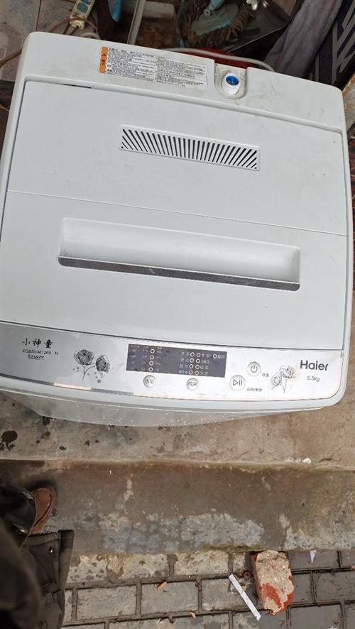 低价出售海尔小神童全自动洗衣机,9成新??