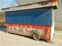 熟食车  长4米宽1.7  加重底盘  两边自动开