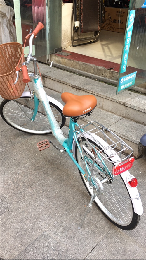 650元刚买的新自行车,凤凰牌的,因为要去外地工作了,用不着了,所以想转手给需要的人