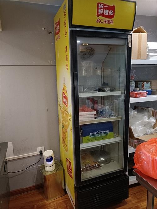 饮料展示柜,基本9成新用了不到一个月就没用了,便宜转了