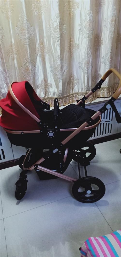 幾乎**嬰兒推車,萬向輪特減震,買回來只推出去過兩次,由于孩子不坐閑置在家,特180元便宜出售!
