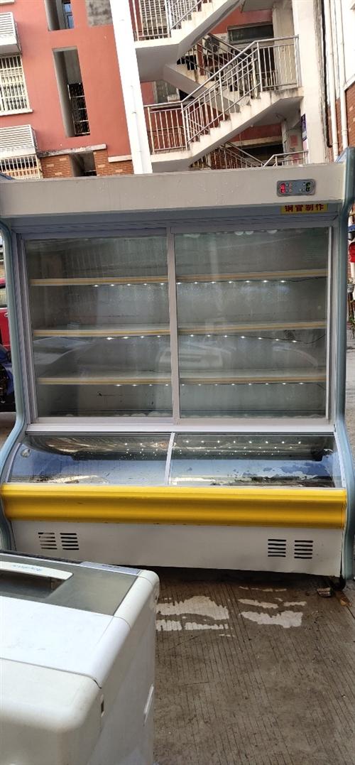 出售二手点菜柜 ,长1.6m  ,铜管制作,使用 时间短