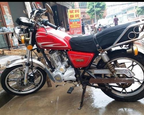 求购一部男装GN125摩托车,要求车况良好无事故可过户,2016~2021年上牌的年份不要太长,品牌...