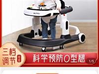 婴儿学步车防o型腿多功能防摔防侧翻女孩男宝宝助步可坐手推车U型