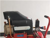木工装修现改行在外出发展闲置转让2.5P25升空压机,有油机耐用,纯铜电机,可送一条风管、两把美特牌...