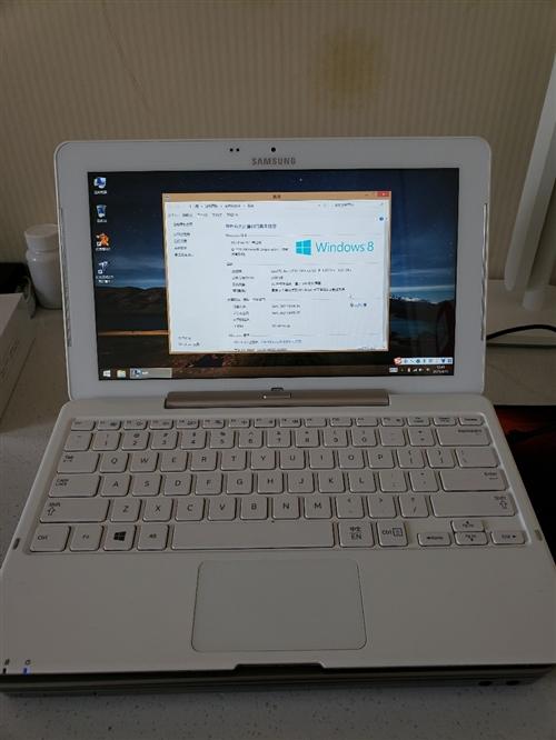三星筆記本/平板電腦。型號XE500T1C,win8系統,裝上鍵盤就是筆記本電腦,一鍵拆除鍵盤就是平...