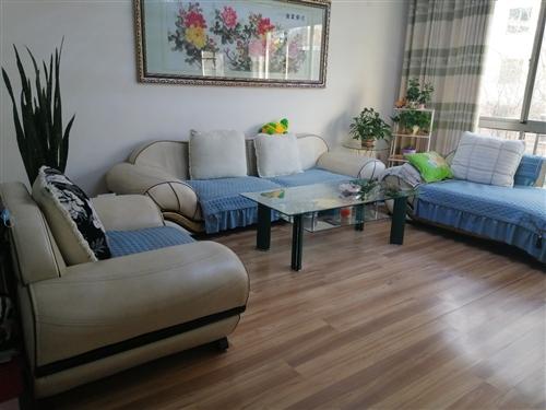 茶幾+沙發合計售680,價格可優惠,茶幾長210cm米,寬50cm,高46cm,沙發為一二三的沙發,...