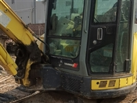 个人一手挖掘机,带背车转让15054334958