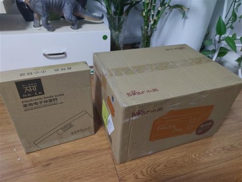 出售小熊家用电烤箱+体重秤,新品未开封,需要的联系!