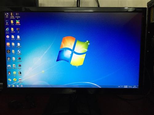 amd a67400k电脑 1t硬盘 24寸显示器 陆川城区