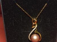 爱迪生珍珠吊坠,珍珠大小都是12mm正圆无暇6套一起