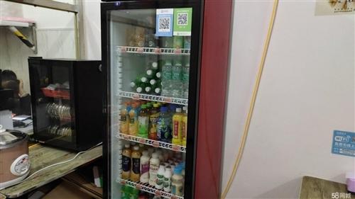 商用饮料展示柜一台,几乎**,未通过电,看上的新密免费送货