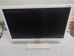 21.5寸清华同方超薄显示器,能使用。低价处理