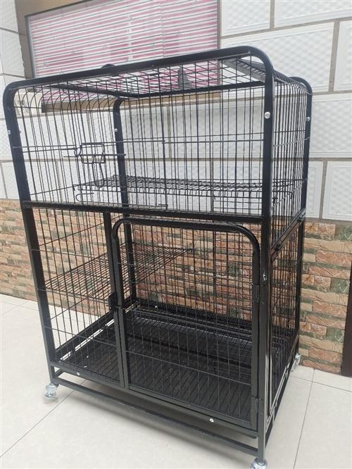 **大三層貓籠出售、價格優惠可容納兩只成年貓咪、