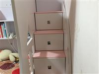 高箱双层床+抽屉式梯1.5米*1.9米 淘宝购买,原价为2750元孩子长大了不喜欢花俏的东西寻找有...